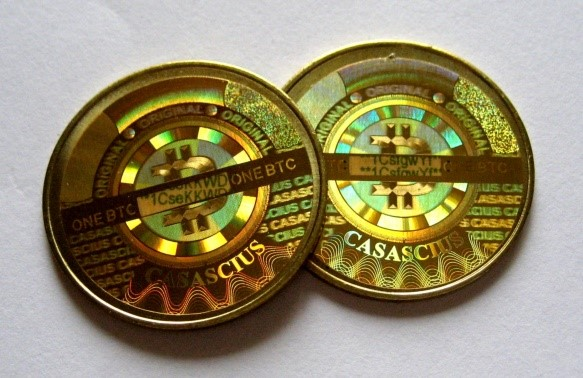 Physical bitcoins private key cryptography wsbetting kibris haber