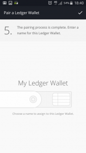 Ledger wallet android app