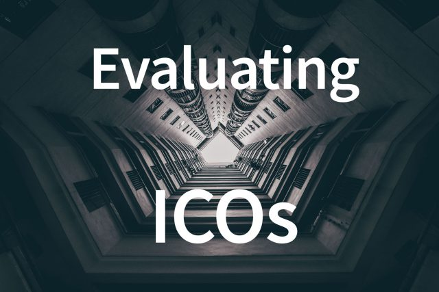 Evaluating upcoming ICOs