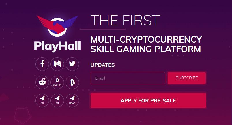 cryptocurrency gaming platform