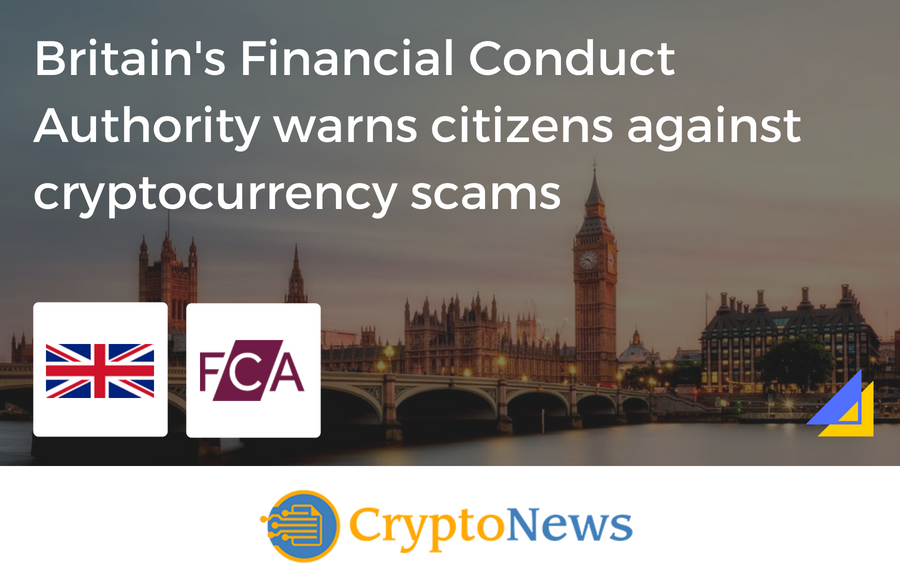Cryptocurrency Scams on the Rise in the UK – Britain's Financial Conduct Authority