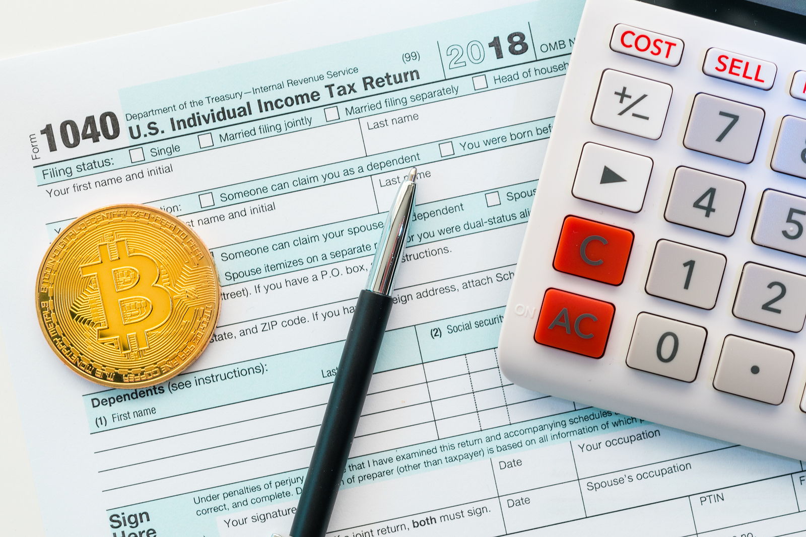 how to treat cryptocurrency on tax return